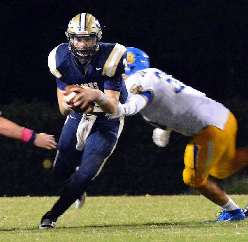 Covington quarterback Josh Alfaro