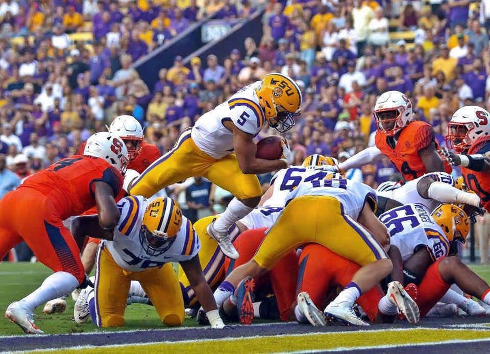 Syracuse at LSU 2017