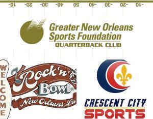GNOSF QB Club, CCS, Rock N Bowl