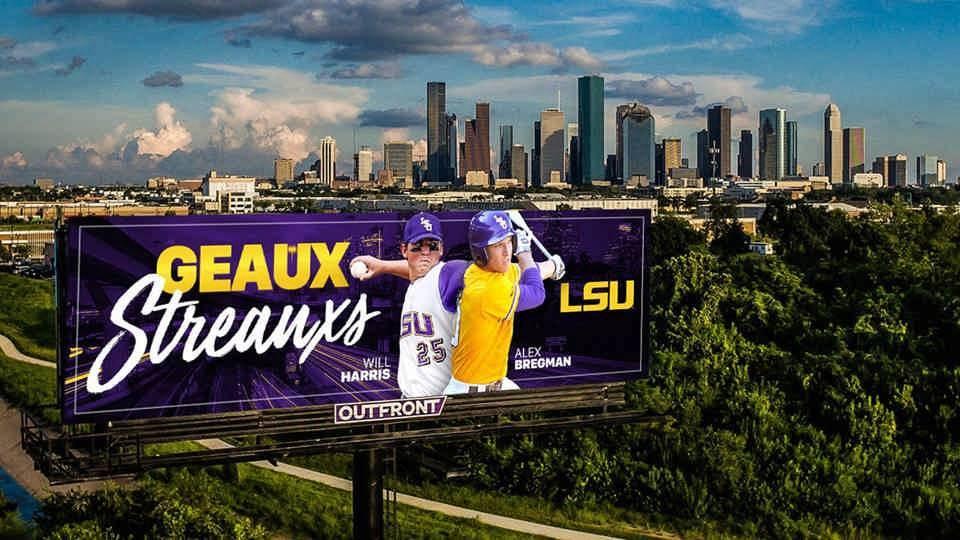 """""""Geaux Streauxs"""" Billboards Now on Display in Houston"""
