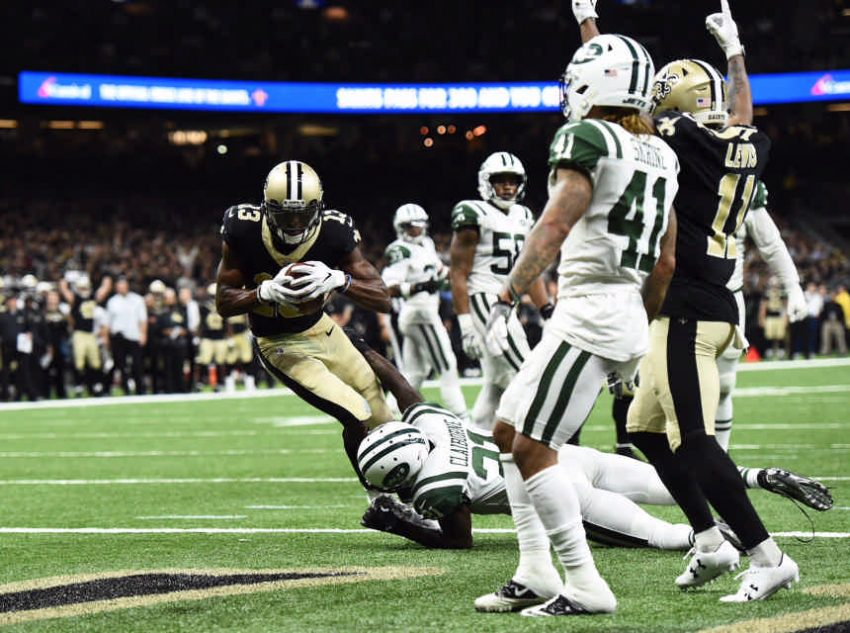 Michael Thomas, Saints vs. Jets