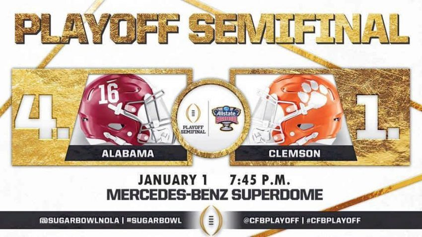 Image result for ALLSTATE SUGAR BOWL - CFP SEMIFINAL pic logo