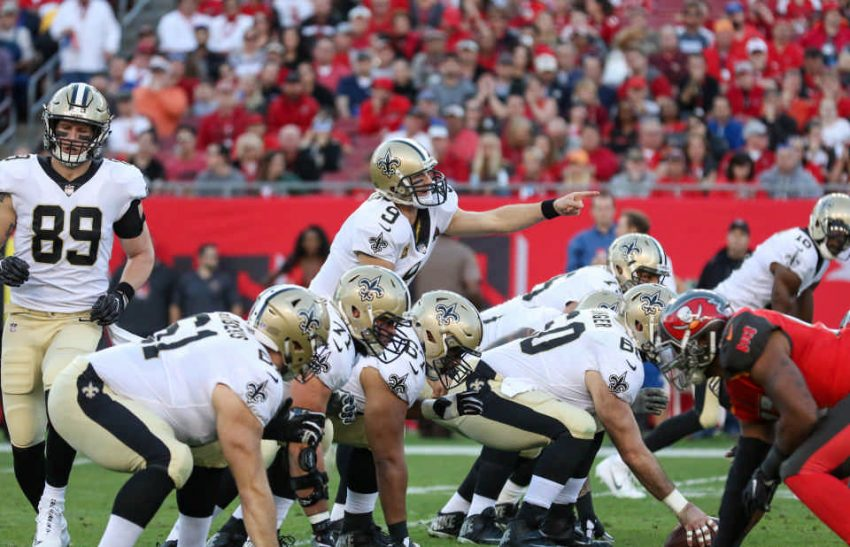 Saints at LOS in Tampa