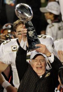 Tom Benson Lombardi Trophy