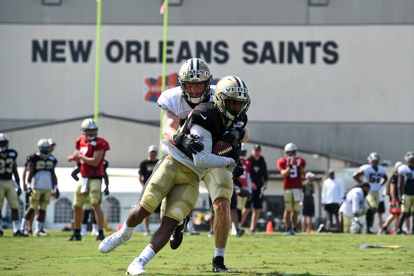 Saints Training Camp 2018