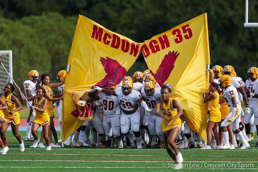 McDonogh 35 football