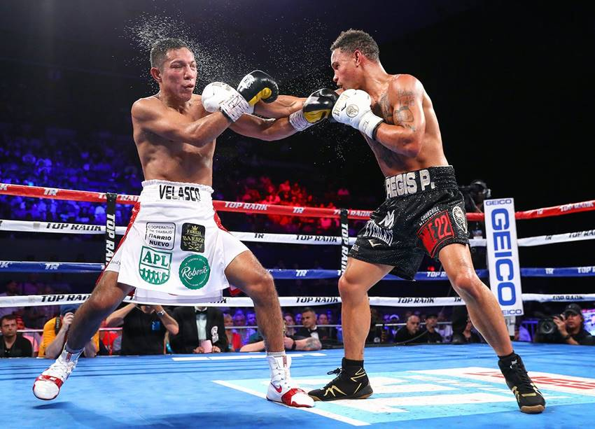 Prograis comes home, remains unbeaten with 8th-round TKO