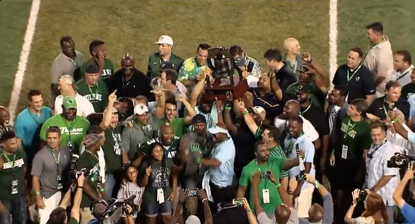 Tulane honors unbeaten 1998 team on 20th anniversary – Crescent City Sports