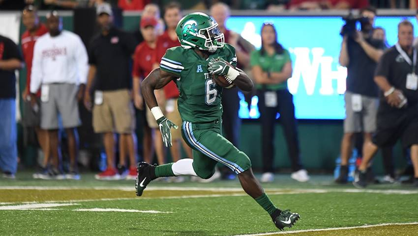 Big plays from Dauphine lead Tulane past Nicholls, 42-17 – Crescent City Sports