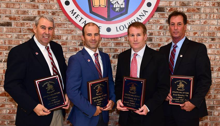 Rummel Athletic Hall of Fame Class of 2018