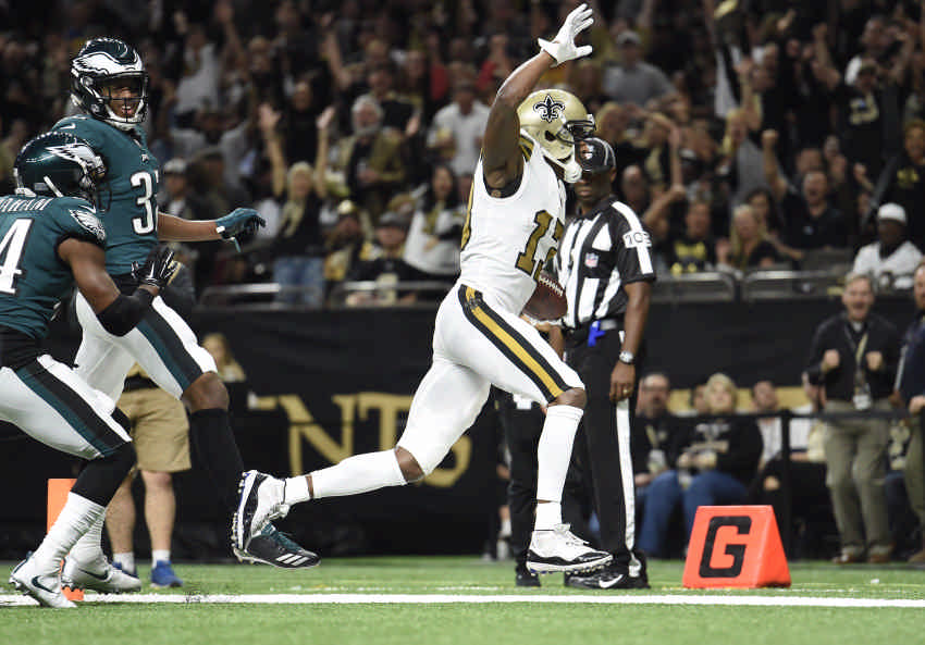 Saints ground defending Super Bowl champion Eagles, 48-7