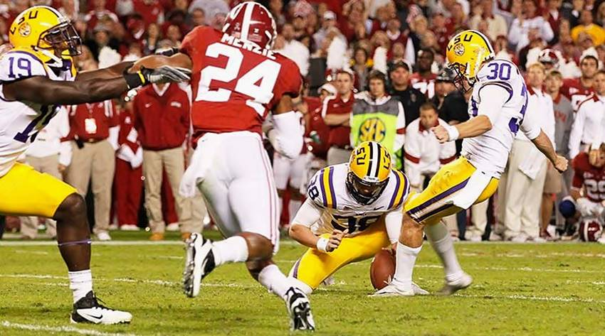 LSU at Alabama 2011