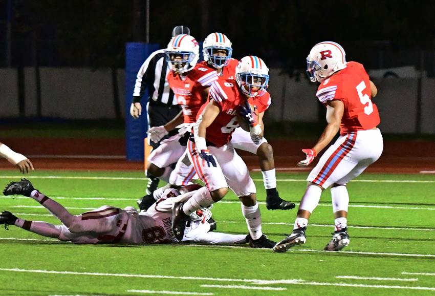 Rummel defensive back Corey Smooth