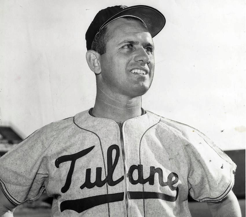 Mel Parnell 1958 Tulane Coach