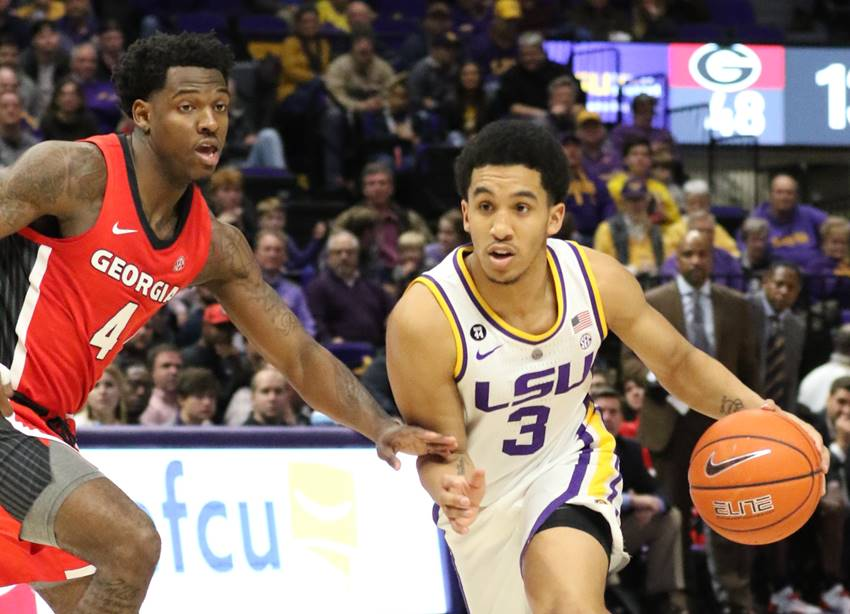 LSU-UGA basketball