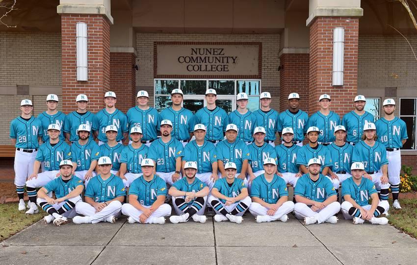 2019 Nunez Baseball team