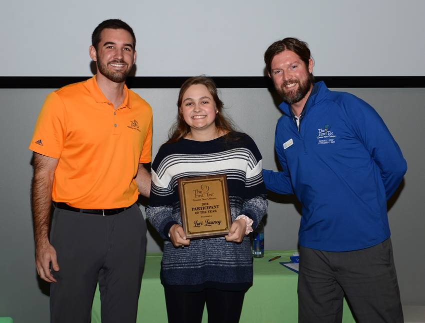 Brad Cooney, Lori Launey, Chip Patterson -- Participant of the Year 2018 1.26.19