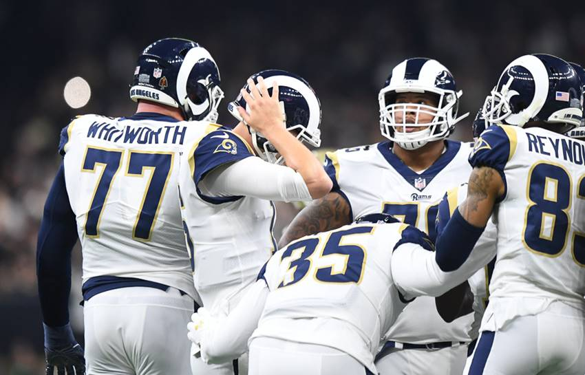 Andrew Whitworth, Jared Goff