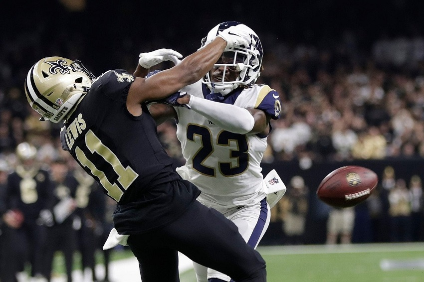 Saints denied Super Bowl by missed call.