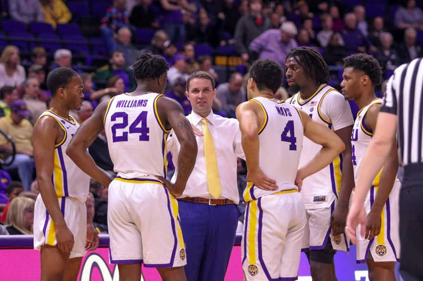 Will Wade and LSU