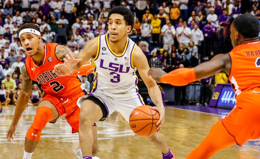 Tremont Waters, LSU vs. Auburn