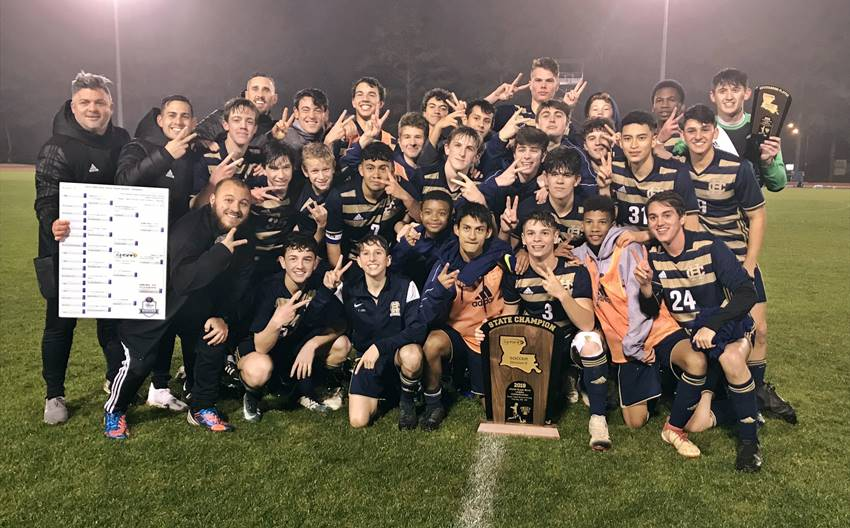 Holy Cross Division II soccer champions 2019