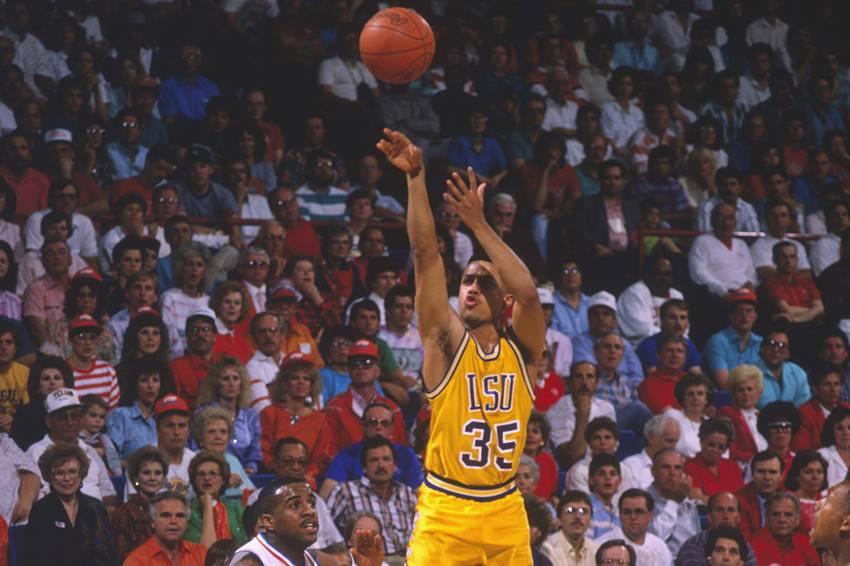 LSU freshman Chris Jackson in 1989