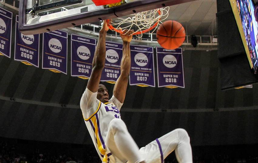 LSU in tough regional with good chance to reach Sweet 16