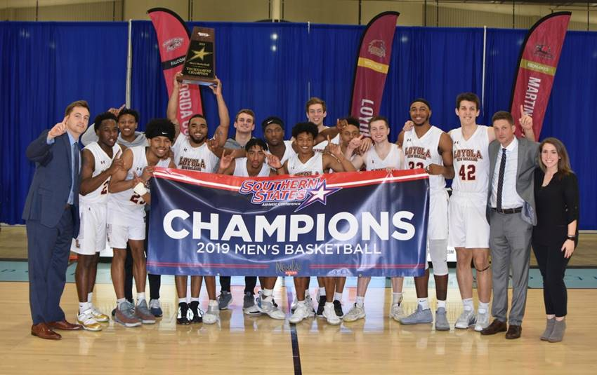 Loyola men basketball title