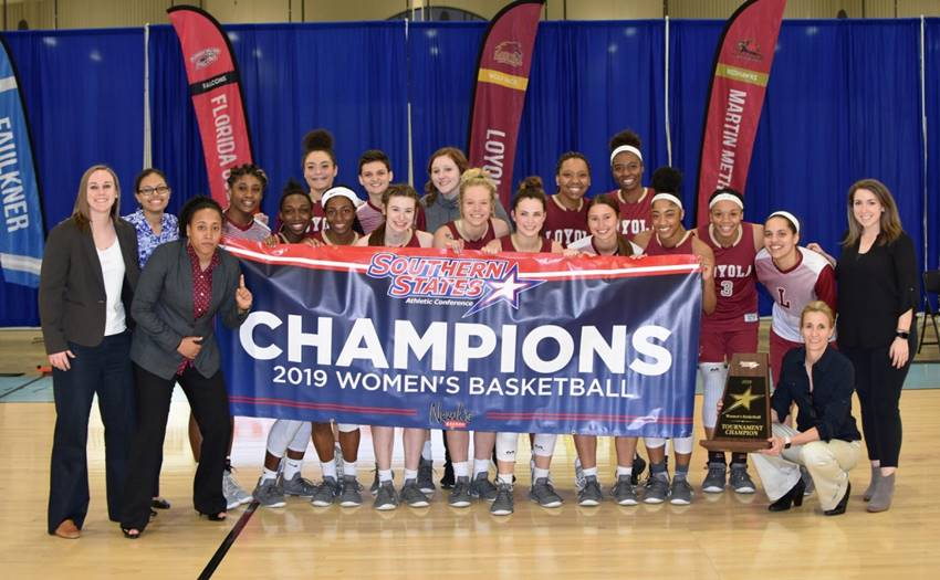 Loyola women basketball title
