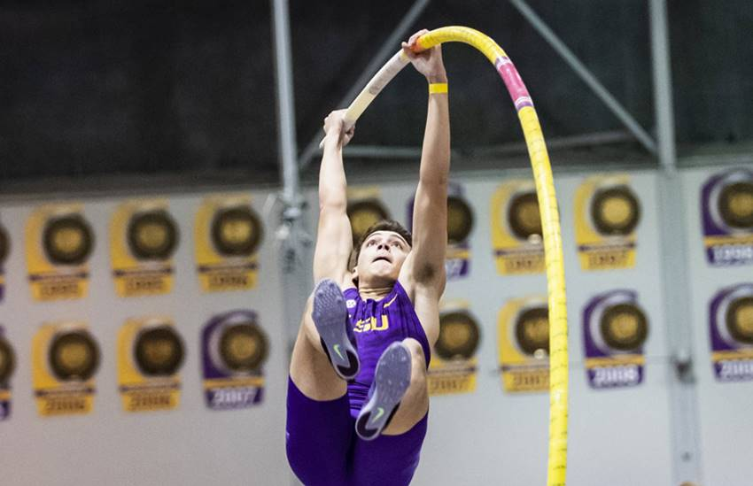 Mondo Duplantis at LSU
