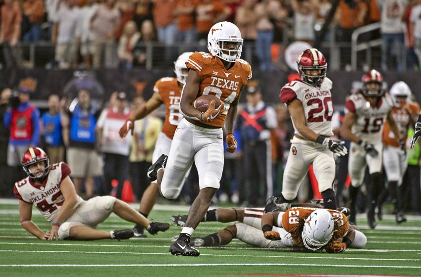 Lil'Jordan Humphrey, Texas vs. OU