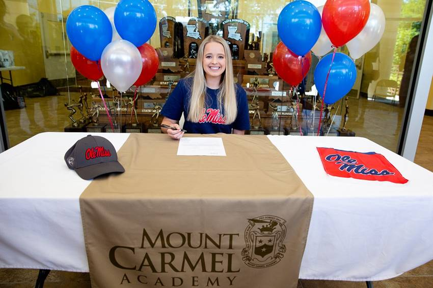 Jordan Berry signs with Ole Miss