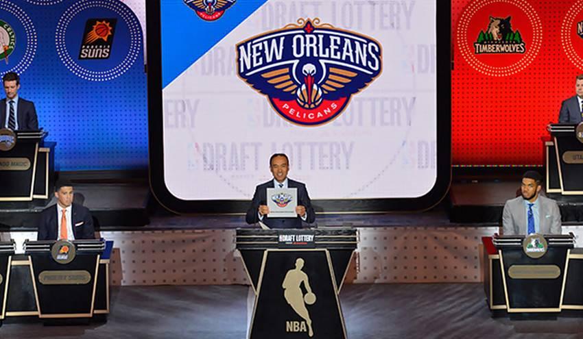 NBA Lottery Pelicans