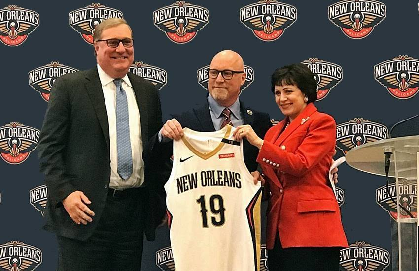 David Griffin announced Pelicans front office