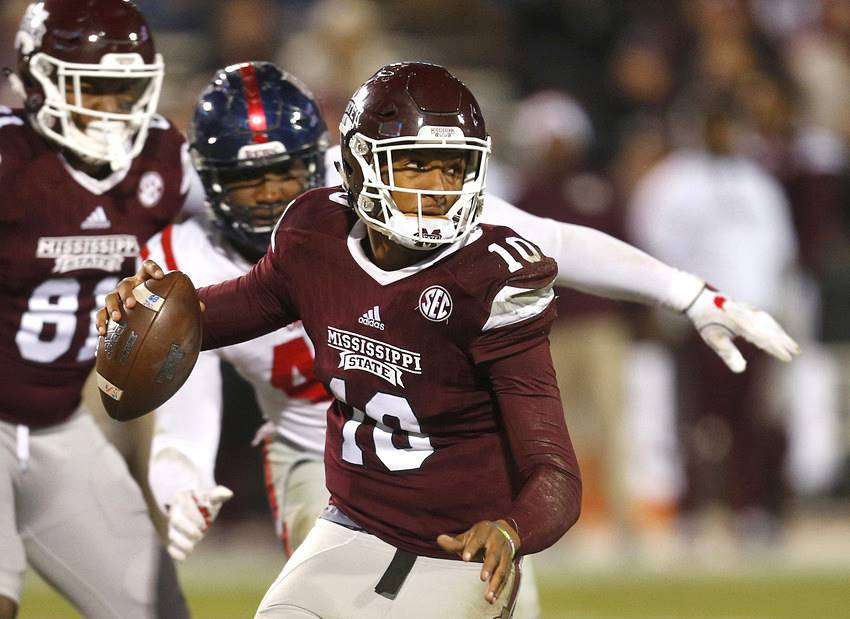 Keytaon Thompson, Mississippi State vs Ole Miss