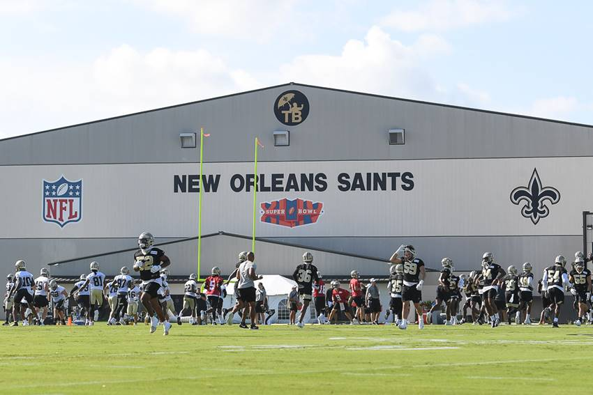 Saints 2019 training camp